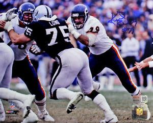 Kurt Becker Signed Autographed Chicago Bears 8x10 Photo TRISTAR COA