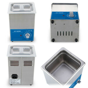 Ultrasonic Cleaner 2L Ultra Sonic Cleaning Wash Bath Tank Heater & Timer