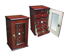 CHARLESTON Large HUMIDOR- 7 drawers, Hygometer, 7 humidifiers - Up to 280 Cigars