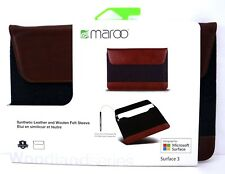 Maroo Woodland Microsoft Surface 3 Synthetic leather And Wool Felt Case Cover