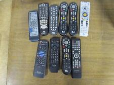 Lot Of 10 Remote Controls Tivo Peanut Jvc
