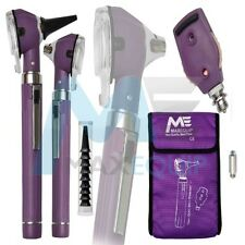 F.O Otoscope Ophthalmoscope Opthalmoscope Examination LED Diagnostic ENT PURPLE