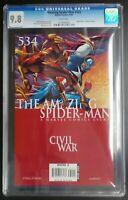 Amazing Spider-Man #534 Marvel Comics CGC 9.8 White Pages