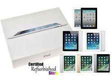 Apple iPad | 2/3/4/5/6 | 16/32/64/128 GB | Wi-Fi/AT&T/TMobile/Verizon/Unlocked