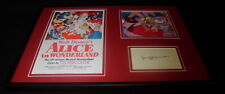 Jerry Colonna Signed Framed Alice in Wonderland 12x18 Photo Display
