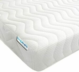 NEW MEMORY FOAM COOL TOUCH MATTRESS 13CM IN DEPTH ALL SIZES & 2 FREE PILLOW