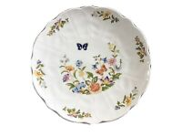 """8.5"""" Aynsley Cottage Garden Bread & Butter Or Cake Plate Fine Bone China"""