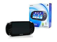 Sony ps vita wi-fi consola-negro handheld-videoconsola + cable de carga alemán