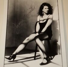 JAMIE LEE CURTIS /  SEXY  8 X 10  B&W  AUTOGRAPHED  PHOTO