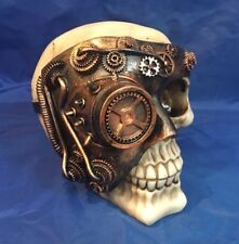 Steampunk Monocle Man Skull Nemesis Now New Boxed Ornament Gothic Skeleton
