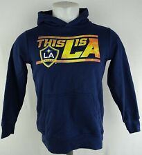 Los Angeles Galaxy MLS Youth Navy Blue Pullover Drawstring Hoodie