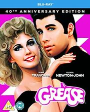 Grease 40th Anniversary Blu-Ray 2018 Region