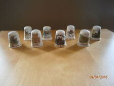 UK & Ireland Topographical Collectable China Sewing Thimbles