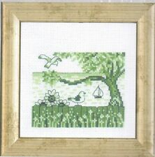 "Permin Scandinavian Art Needlework -Mini Cross Stitch Kit ""Seagull"""