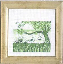 "Permin Scandinavian Art Needlework -Mini Cross Stitch Kit ""Seagull"""