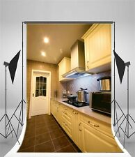 5x7ft Kitchen Scene Backdrop Studio Vinyl Photo Background Props For Photography