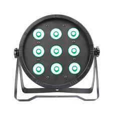 RGBW 9LEDS Stage Light DMX Par Can Uplighter Lighting Effect DJ Disco Band Party