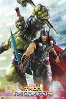THOR RAGNAROK ~ GLADIATORS ~ 24x36 MOVIE POSTER Chris Hemsworth Hulk NEW/ROLLED!