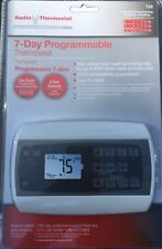 Radio Thermostat T22 7-Day Digital Programmable Thermostat for Furnace A/C Home