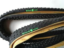 *NOS Vintage 1980s VITTORIA TIGRE cyclo-cross 700c tubular tyres (pair)*