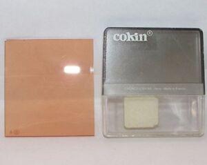 Genuine Cokin A.31 85C warming Chromo filter Light Orange Coef X1.5 France