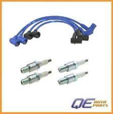 Ignition Kit w/ 4 Spark Plugs & Wire Set For: Mazda RX-8 2004-2007 R2 1.3L