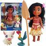 10' Disney Princess Moana Adventure Pua Hei Hei Action Figures Doll Kid Girl Toy