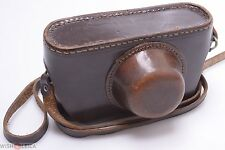 "LEICA IG & IIIG 3/8"" 'ENOOR' LEATHER 'ERC' READY CASE W/ STRAP"