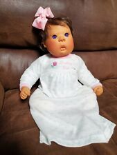 Lee Middleton Life-Like Baby Doll Signature Ed. 1995 Purple Eyes W/Orig Outfit