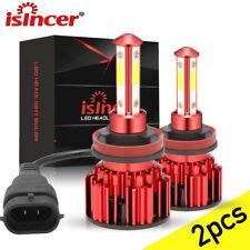 LED Headlight Kit H11 H8 H9 6000K White Fog Light Bulbs Bright High or Low Beam