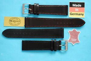 Cordovan Shell Uhrenarmband 2. Wahl 17,18,19,20mm schwarz braun Galopper-NL / 29
