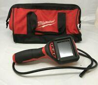Milwaukee 2309-20 M-Spector 9mm Inspection Scope 9V Power, L.N