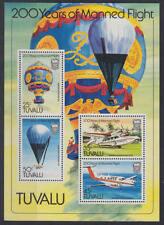 Tuvalu - Michel-Nr. 199-202 als Block 8 postfrisch/** (Flugzeuge / Ballone)