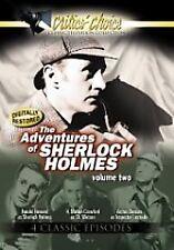 Adventures Of Sherlock Holmes, Vol. 2 - DVD Black & White Ntsc NEW DVD FREE SHIP
