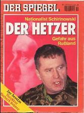 SPIEGEL 2/1994 Der russische Nationalist Wladimir Schirinowski