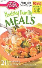 HEALTHY FAMILY MEALS BETTY CROCKER JANUARY 2000 COOKBOOK #158 TASTY SNACKS, FISH