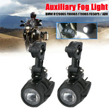 2PCS Motorcycle LED Auxiliary Fog Light 60W Headlight For BMW F800GS R1200GS ADV