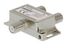 KÖNIG 1 fach Abzweiger 1 Weg TAP 8dB 5-2400MHz Y-Kupplung Digital SAT Verteiler
