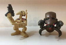Star Wars Galactic Heroes Droids x2 Very Good Condition!