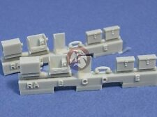 Resicast 1/35 First Aid & Telephone Boxes (for Sherman & Churchill Tanks) 352283