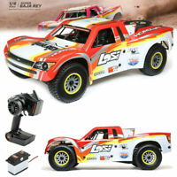 Losi 1/6 Scale Super Baja Rey 4WD Desert Truck Brushless RTR Ready To Run : Red