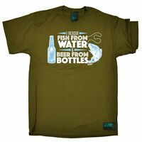 Fishing Tee I Rescue Fish From Water Beer Camping Trip funny BirthdayT-SHIRT