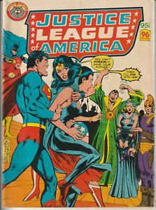 """Australian Comic """"Justice League America"""" One Shot - Murray 1980 96 Pages"""