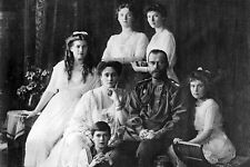 New 5x7 Photo: Last Tsar Czar of Russia Nicholas II & Romanov Family
