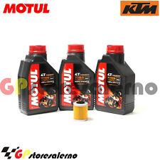 TAGLIANDO OLIO + FILTRO MOTUL 7100 10W50 KTM 660 RALLY E FACTORY REPLICA 2006