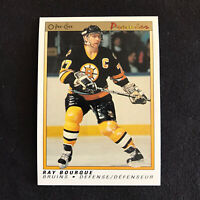 1990-91 OPC Premier  #9 Ray Bourque Boston Bruins NM