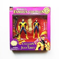 X-men Marvels Famous Couples Cyclops and Jean Grey Limited Edition Toy Biz 1997