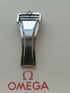 Omega 16mm Stainless Steel Deployant Clasp - Part No 94521623 - Great Condition