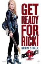 RICKI AND THE FLASH -2015- orig 27x40 D/S ADVANCE  Movie Poster - MERYL STREEP