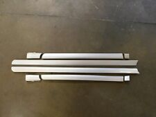 Audi B5 S4 OEM Lower Door Blade Molding Set Silver LY7W